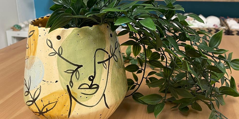 Adult Workshop - Green Goddess Hanging Planter