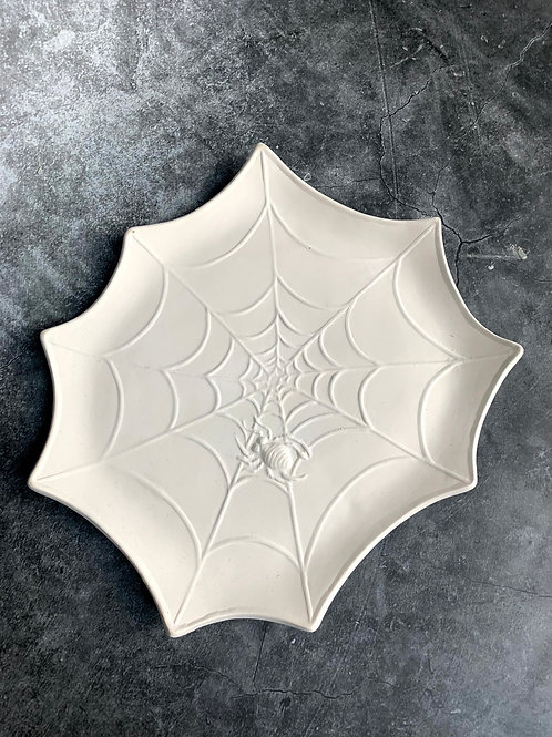 spider web detail plate