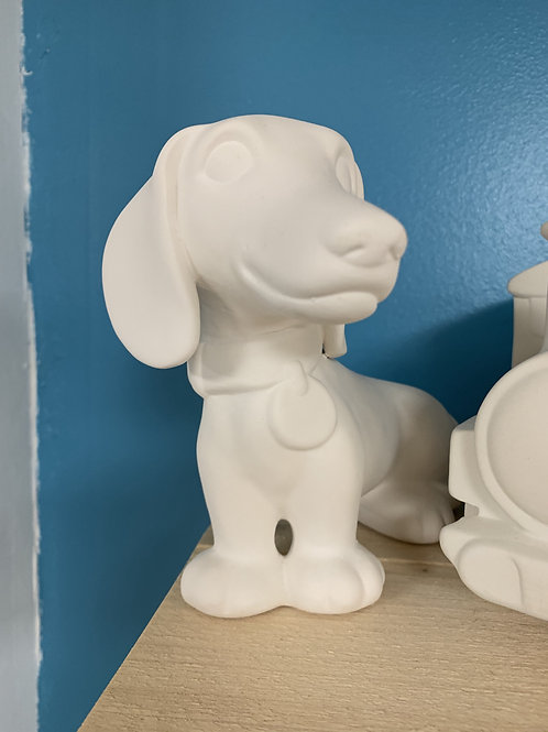 Large Sausage Dog Money Box - Take Home Kit