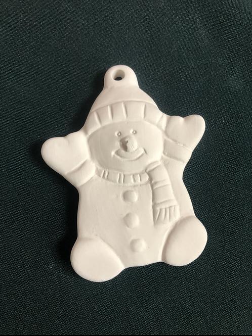 Small snowman decoration