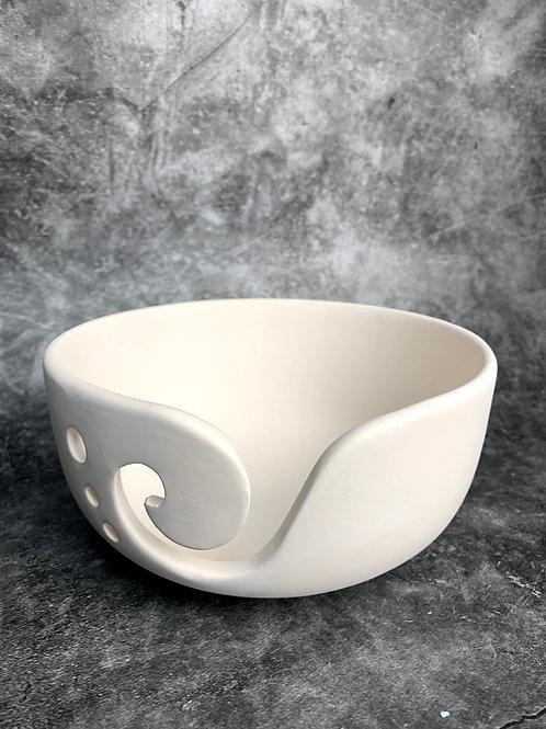 low sided yarn bowl