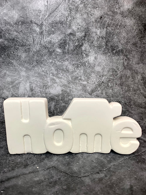 home word plaque