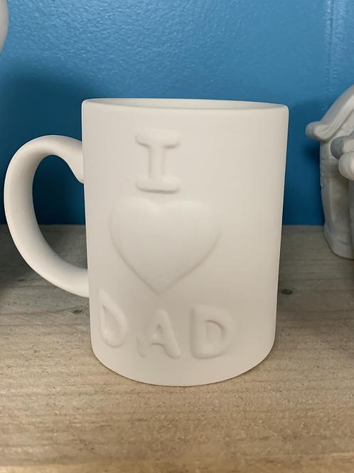 I Love Dad Mug - Take Home Kit