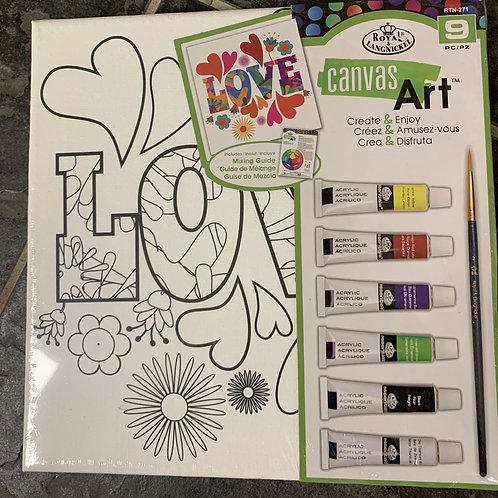 Canvas Art Kit - Love