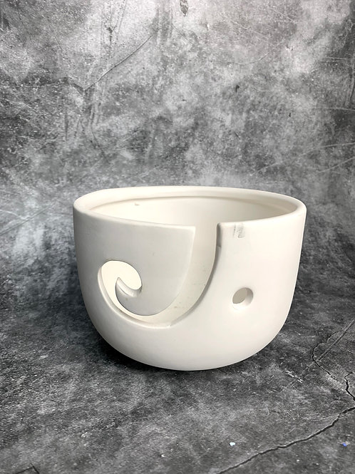 high sided yarn bowl