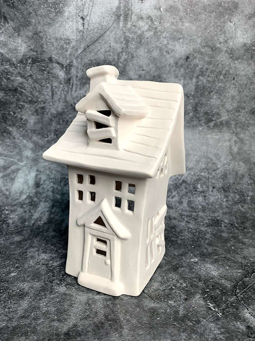 haunted house tealight