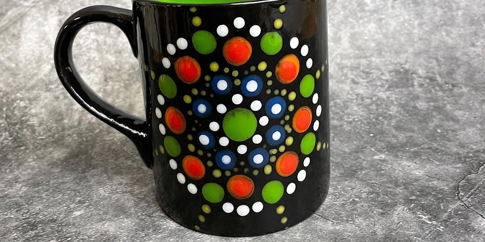 Adult Workshop - Mandala Mug and Coaster