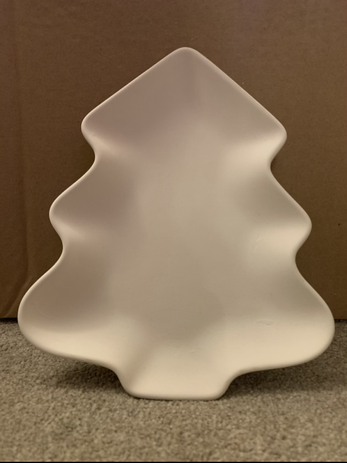 Large Christmas Tree plate