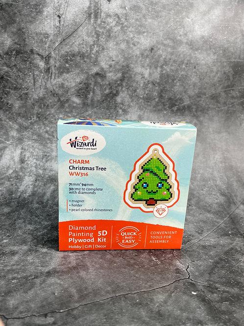 christmas tree diamond art
