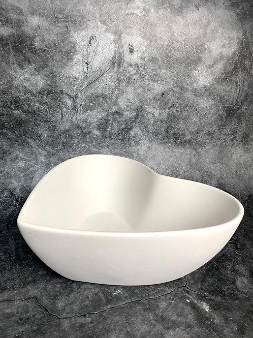 large heart bowl