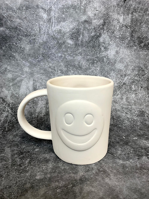 happy and sad emoji mug