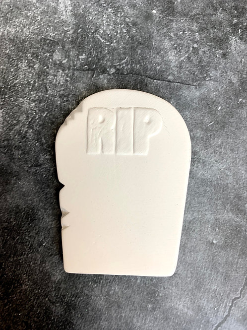 tombstone flat decoration (no hole)