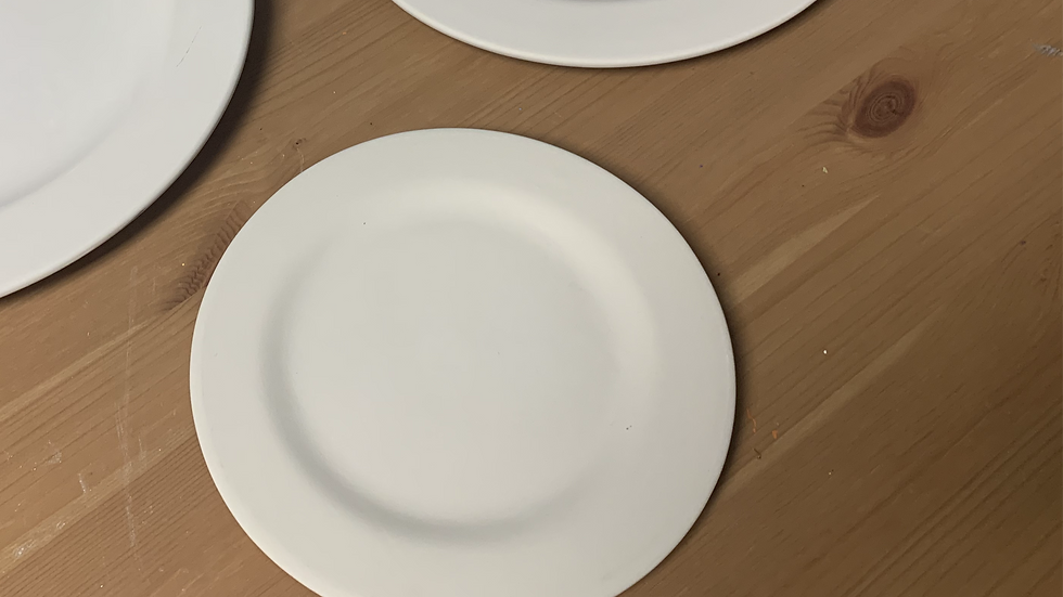 20 cm Rimmed Plate Take Home Kit