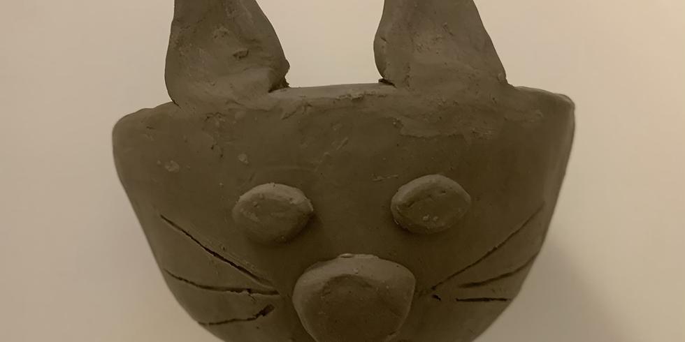 Half Term Zoom Workshop - clay pinch pot animal bowls