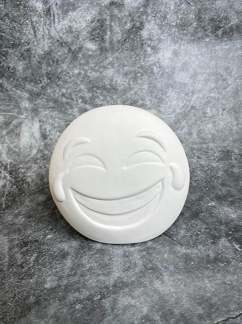 laughing face emoji money bank