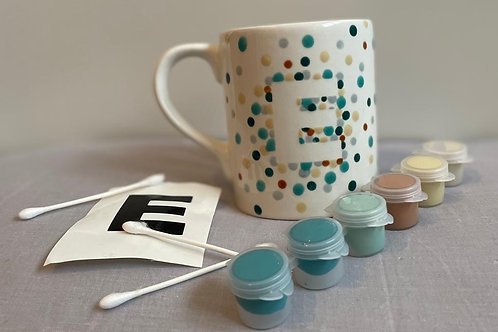 Initial Mug Project Kit