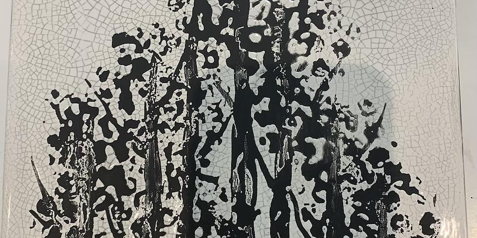 Adult Workshop - Crackle Tree Ceramic Canvas