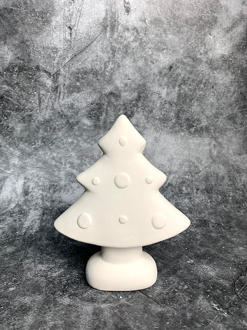standing tree with spots