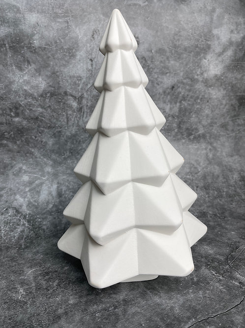 facetted christmas tree