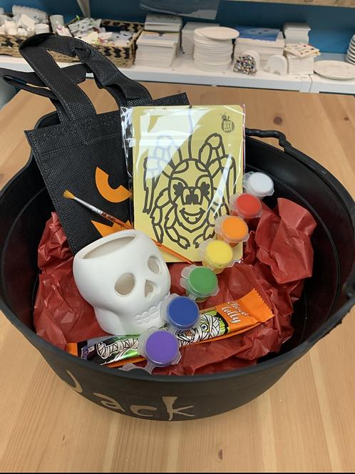 Skull Tealight Painting Halloween kit