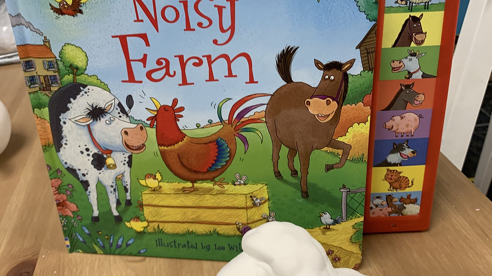 Noisy Farm Book and Sheep Take Home Kit