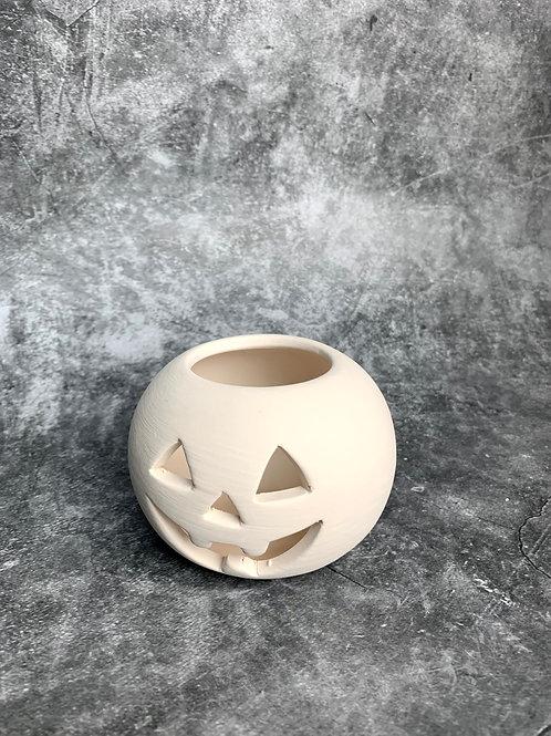 simple pumpkin tealight