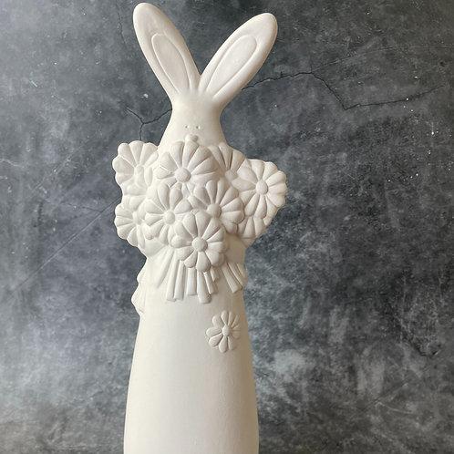tall bouquet bunny