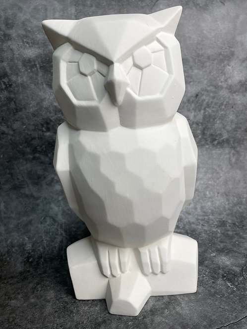 large facetted owl