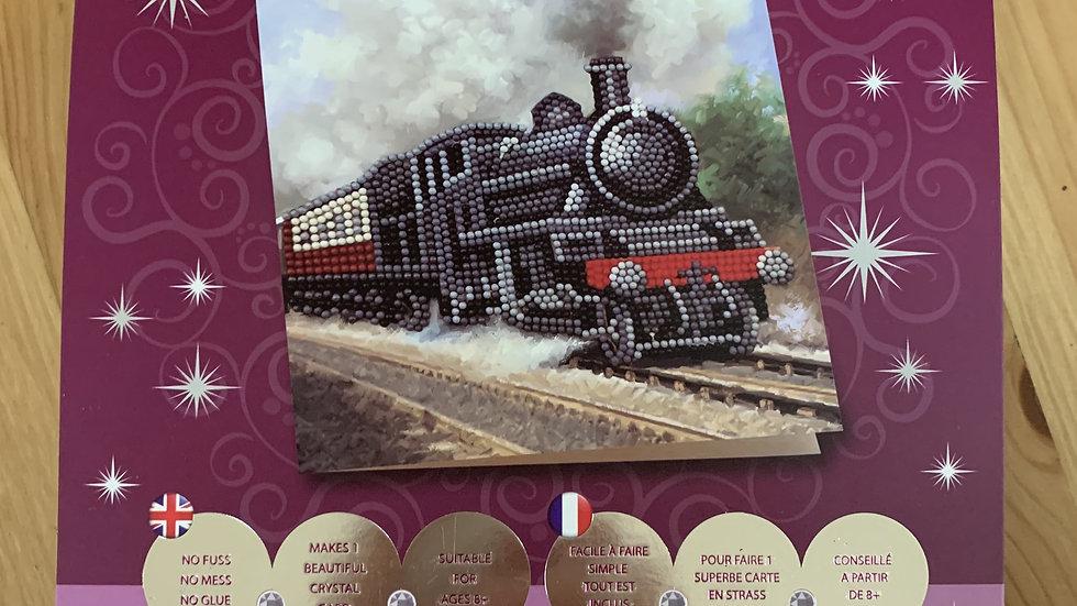 Train Crystal Card Kit