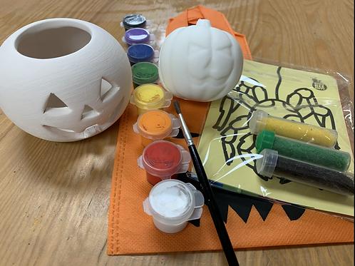 Pumpkin Tea light Painting kit