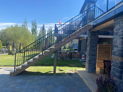Staircase and Landscaping | Okotoks