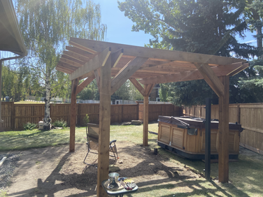 Pergola Construction Okotoks