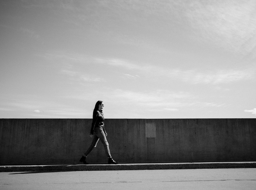 Catwalk Practice - Photo by Jamie Poh