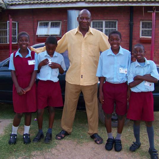Funsani kids ready for school in school