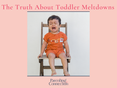 The Truth About Toddler Meltdowns