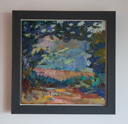 'Tree Portal'    20cm x 20cm Oil on Linen Board (Framed)