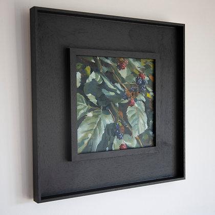 'Blackberry'  Harman's Cross | 20cm x 20cm Oil on Gesso Board