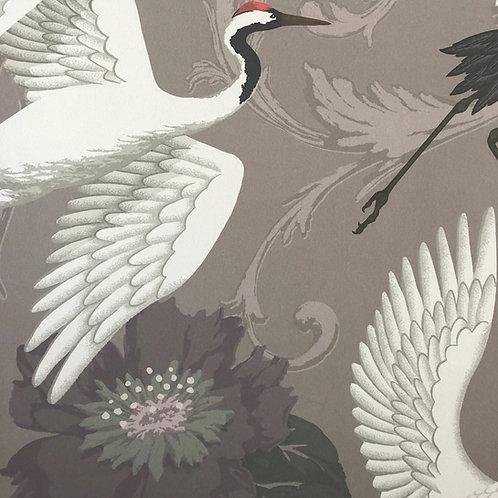 Manchurian Crane - Dark Lilac
