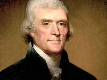 Visionary Jefferson's view on the separation of religion & state
