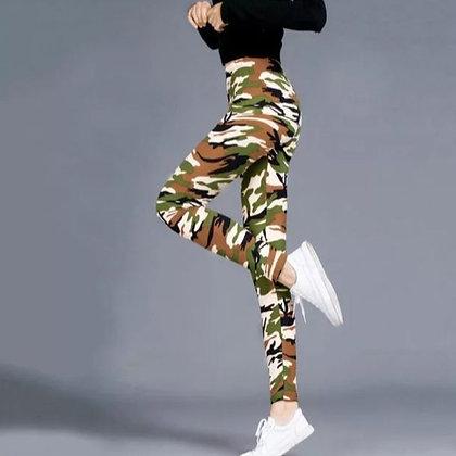 Camouflage Beige Leggings