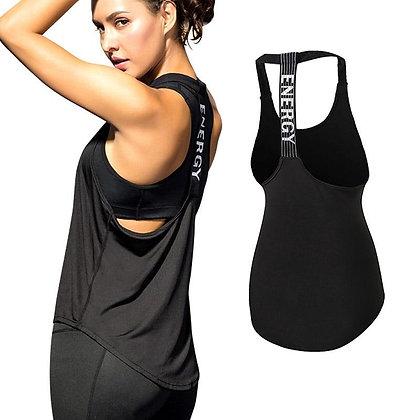 Fitness Sports Yoga Shirt Quickly Dry Sleeveless