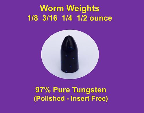 Tungsten Worm Weights