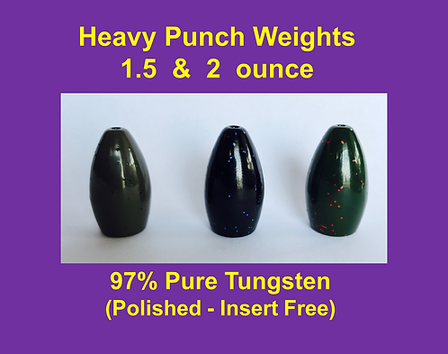 Heavy Punch Weights - 1.5 & 2 ounce