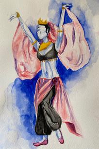 Polovtsian Dancer