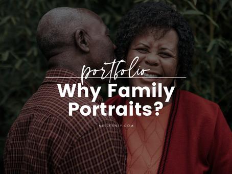 Why do Family Portraits?