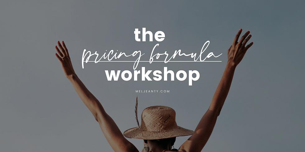 Pricing Formula Workshop