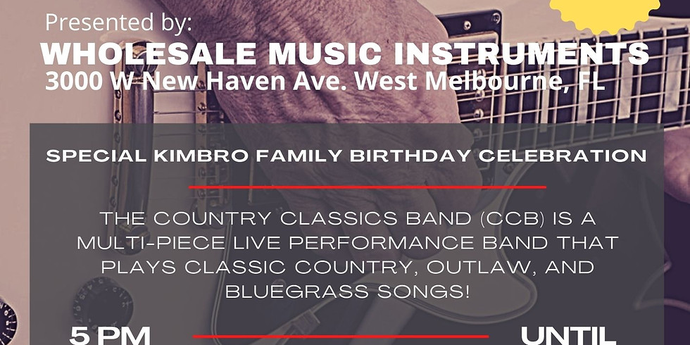 Country Classics Band In Association With Wholesale Music Instruments