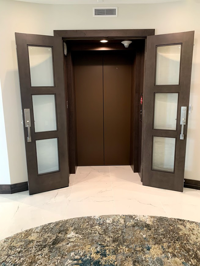 Entryway from the elevator