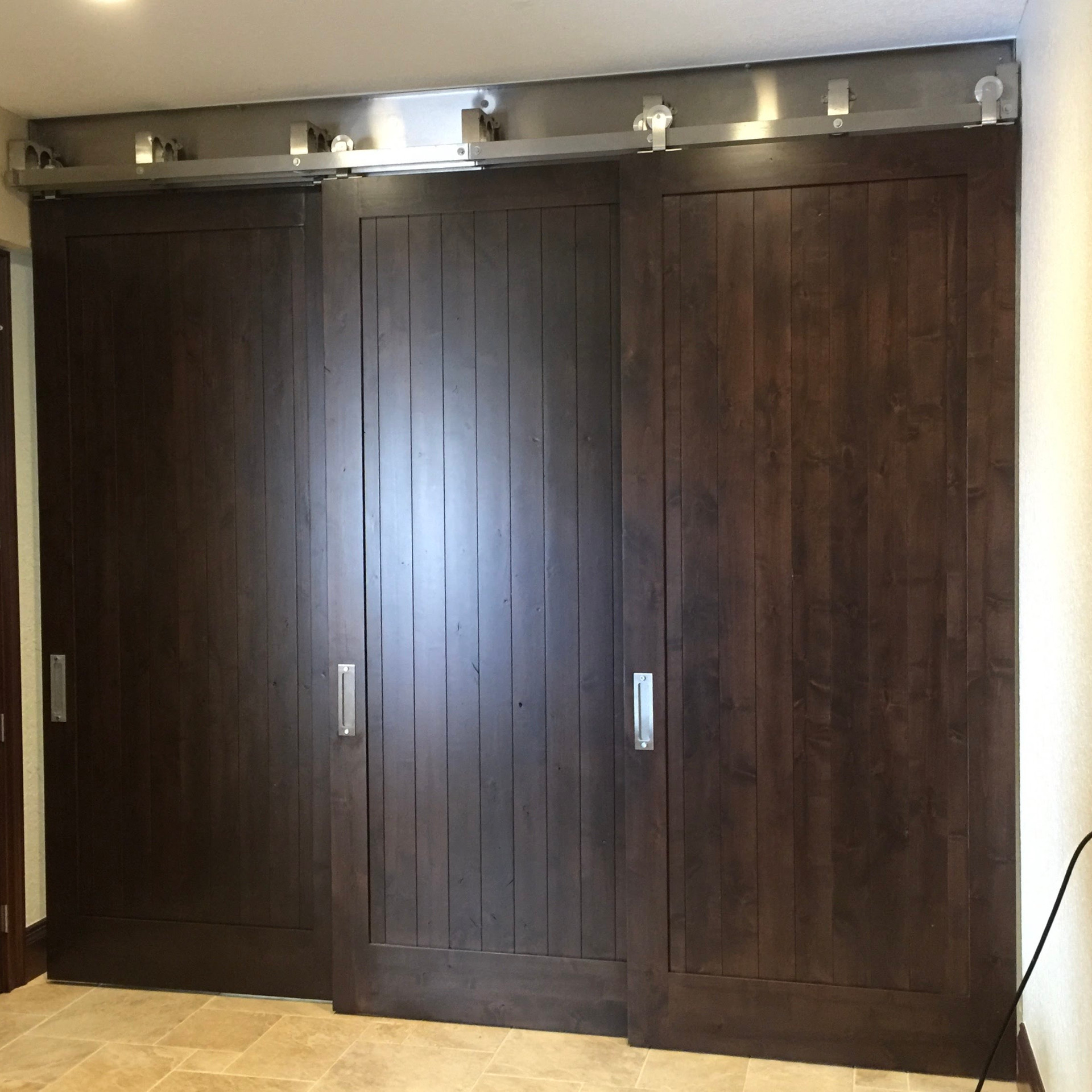 Triple Barn Doors