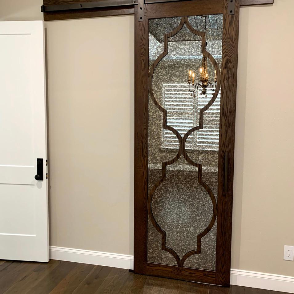 Barn Door with Arabesque